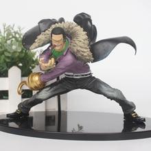 Figuras de acción de One Piece, juguetes de modelos de colección de PVC de Sir Cocodrilo, 15cm