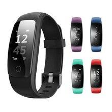 ID107 Плюс HR Bluetooth Умный Браслет Монитор Сердечного ритма Фитнес Tracker Смарт Браслет Деятельность Трекер Браслет Для Android IOS