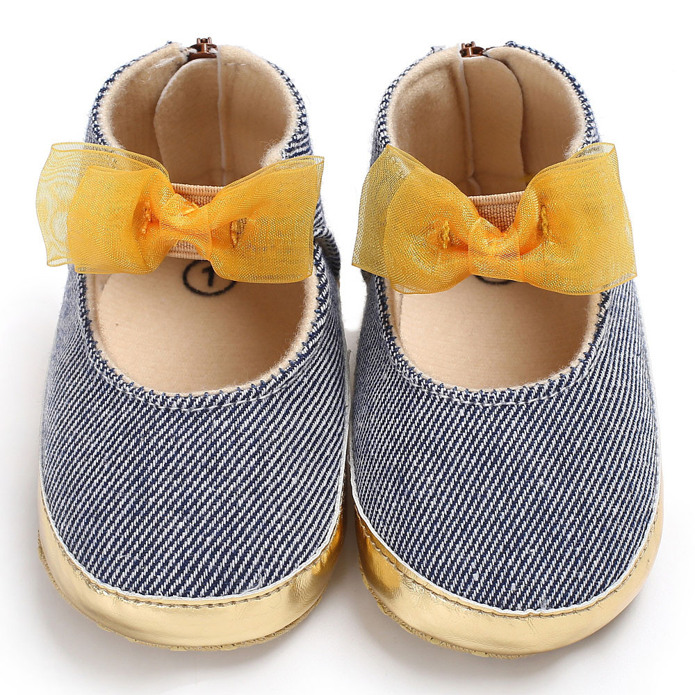 TELOTUNY Baby Infant Kids Girl Soft Sole Crib Toddler Newborn Shoes comfortable Crib Shoes Canvas Soft S3FEB28