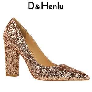 64cafb043b02 D Henlu High Heels Pumps 2018 Wedding Shoe Sexy High Heel