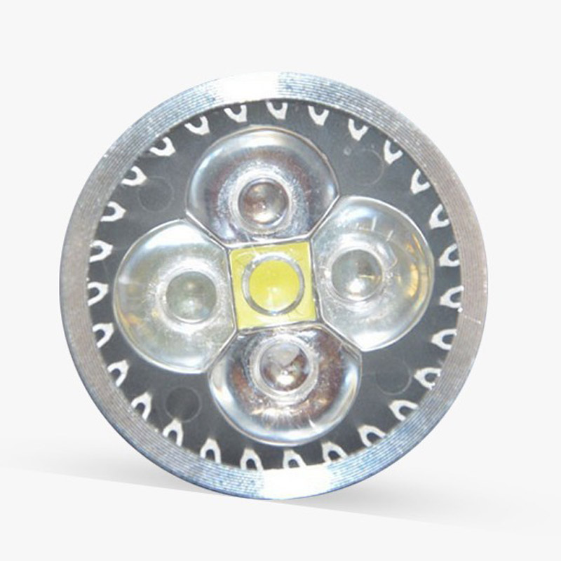 (1 шт./лот) Полный спектр растет свет E27 аквариум Светодиодное освещение, аквариум освещения, Алюминий радиатора