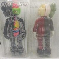 Crazy Promotional 16 Inch Originalfake KAWS Dissected Companion Figure Kaws Toys Kaws Original Fake in printed opp bag