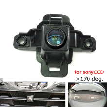 180deg CCD HD car front brand logo camera for Subaru Foreste
