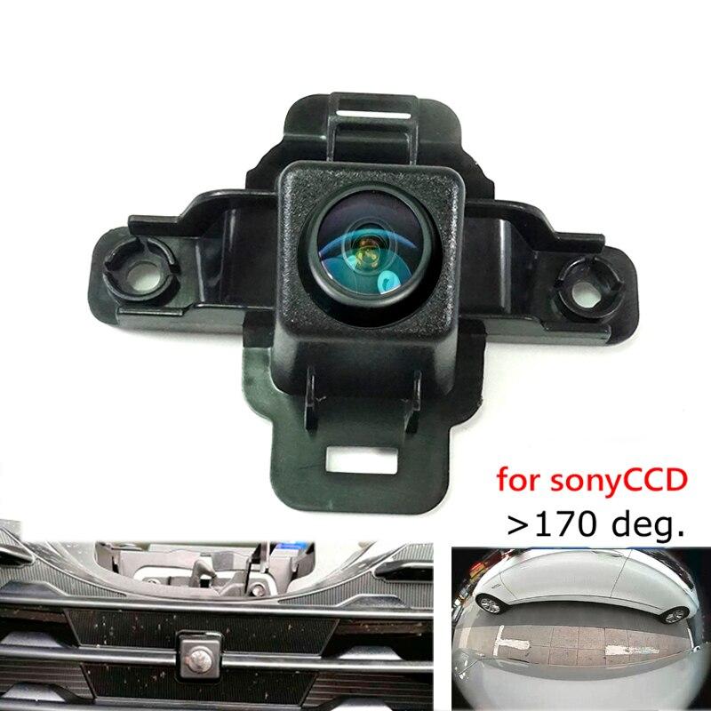 180deg CCD HD voiture avant marque logo caméra pour Subaru Forester 2019 grille avant caméra vue de face positive caméra grand angle