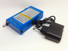 10PCS/LOT New DC 12V Portable 9800mAh Li-ion Super Rechargeable li-on Battery Pack for wireless transmitter CCTV camera