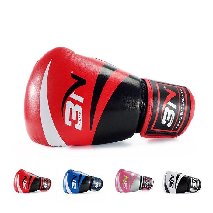guantes de boxeo profetional MMA sanda boxeo saco guantes guantes - Ropa deportiva y accesorios