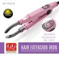 KIKI del mundo de belleza extensión del pelo del hierro eléctrico
