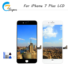 ET-Super  Top AAA Quality For iphone 7 plus LCD Display Complete 3D Touch Screen Digitizer Replacement +Repair Tool+ Free Ship