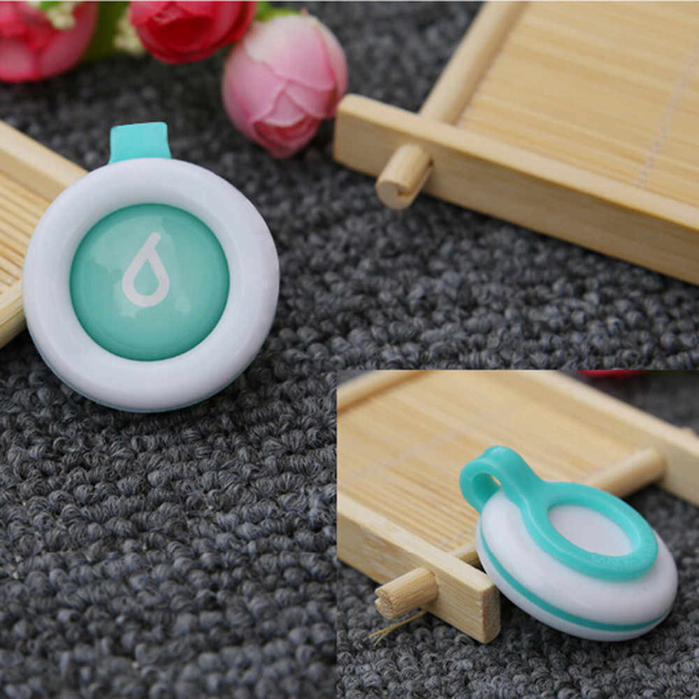 Mosquito Repellent Button 3.5x4cm waterproof Safe nfants Baby Kids Buckle Indoor Outdoor Anti-mosquito Repellent dropshiping
