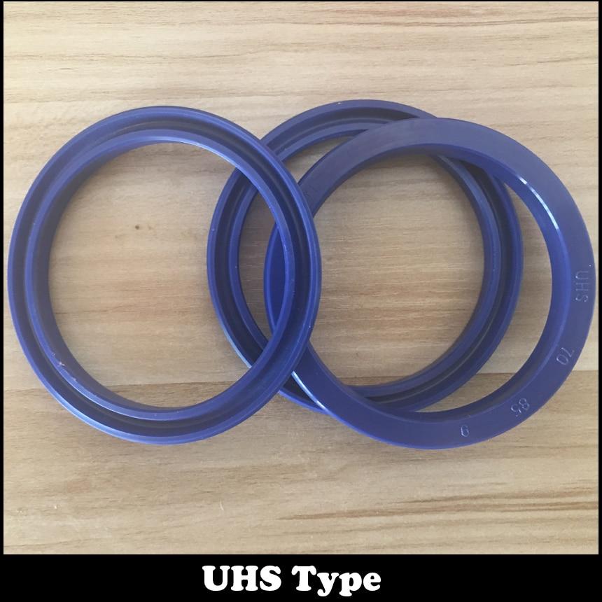UHS 6 pièces 31.5x41.5x6 noir et 6 pièces 18x26x5 brun pneumatique cylindre anneau joint grattoir Piston tige symétrique joint d'huile