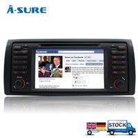 E39 X5 Car DVD GPS Player Sat Nav Stereo USB For BMW Series E38 E53 IPOD