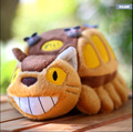 30-50cm Anime Studio Ghibli My Neighbor Totoro Cat Bus Plush Soft Doll Animal Stuffed Toy For Baby Kids Birthday Gifts
