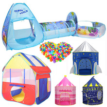 25 stile Faltbare Pool-Rohr-Tipi Baby Spielen Zelt Haus Säuglings Kinder Krabbeln Pipeline Tunnel Spiel Spielen Zelt ozean Ball Pool