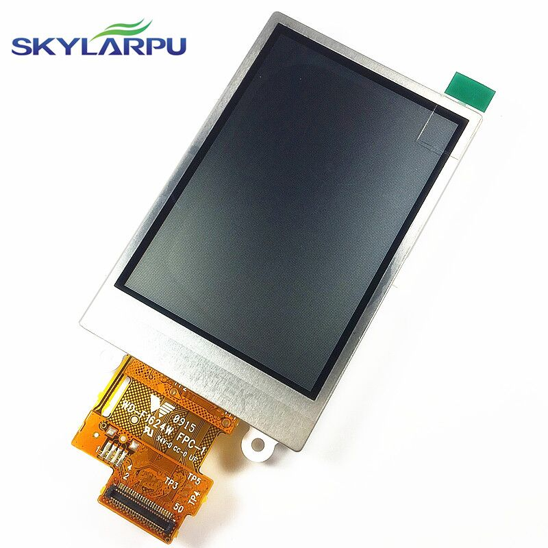skylarpu 2.6 inch TFT LCD screen for GARMIN Rino 650t 650n Handheld GPS LCD display screen panel (without touch) handheld game 3 inch touch screen lcd displays 4 way cross keypad polar system