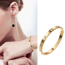New Arrival Promotion Stainless Steel Women Gold color Shack