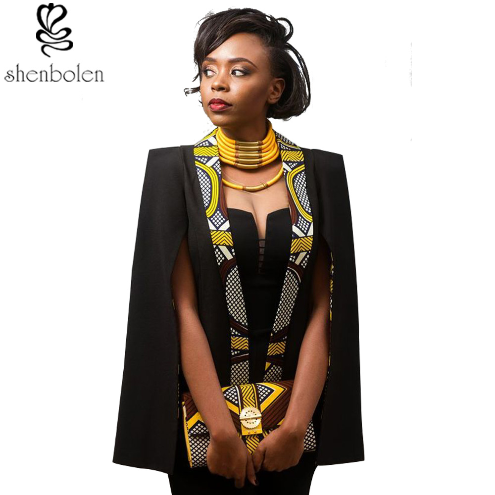 African Clothes For Women Jacket Fashion Both Sides Wear Jacket Cotton Wax Traditional Clothing Dashiki Jacket