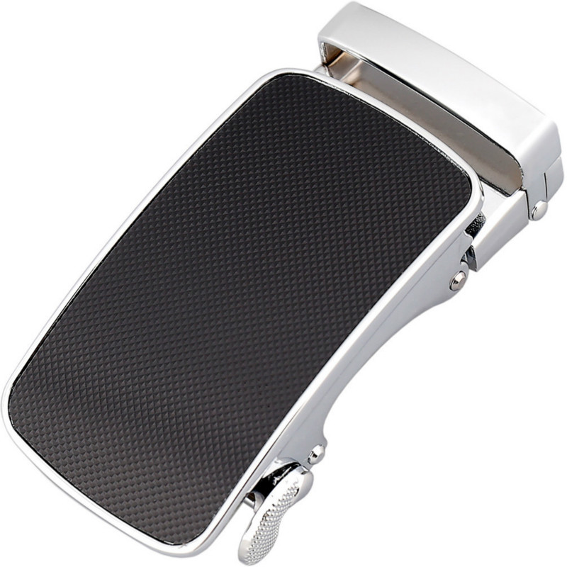 Fashion Men's Business Alloy Automatic Buckle Unique Men Plaque Belt Buckles 3.5cm Ratchet Men Apparel Accessories LY155-44370