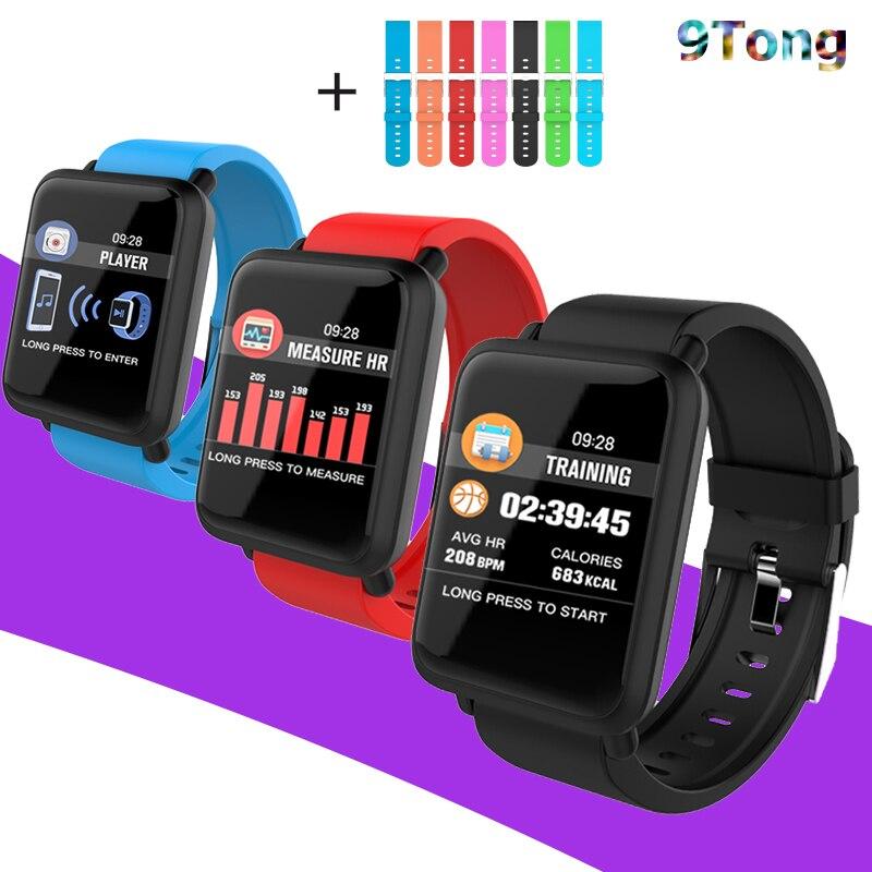 Date Montre Smart Watch Hommes Fitness Bracelet Android Ios Étanche Fréquence Cardiaque Sang Pression Enfants smartwatch Podomètre Rejet D'appel