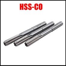 2 мм 2,5 мм 3 мм 3,5 мм 4 мм диаметр работы M35 HSS-CO кобальта H8 с цилиндрическим хвостовиком машина вращающийся инструмент фреза станочная развертка