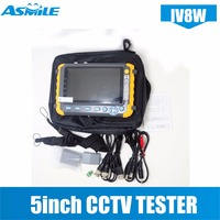 5 Inch TFT LCD 1080P 4 IN 1 TVI AHD CVI Analog CCTV Security Monitor Tester for IV8E