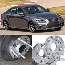 4pcs 5X114.3 60.1CB 25mm Thick Hubcenteric Wheel Spacer Adapters For Lexus IS/RX/SC/GS/ES