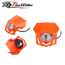 Motorcycle Headlight Fairing Headlamp For KTM 250 150 SX XC MX EXC Supermoto Enduro