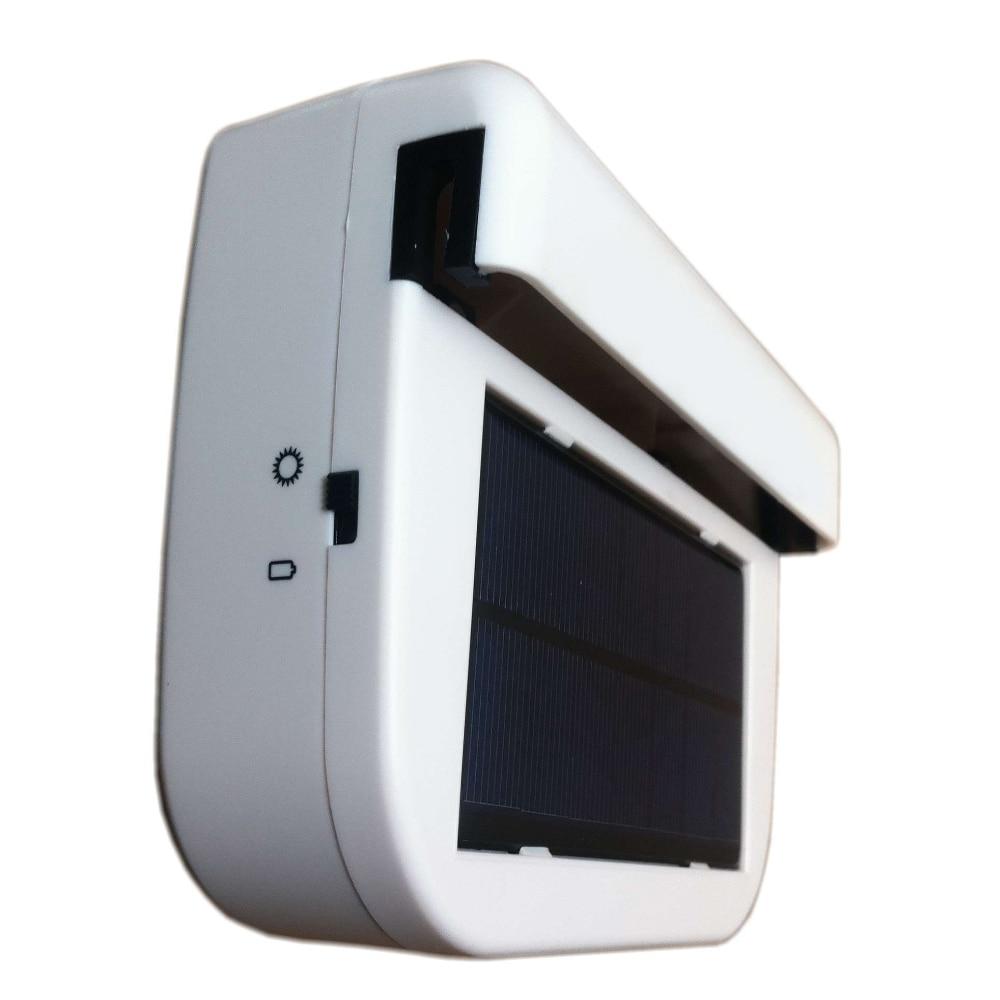 Portable Solar sun Power Air Vehicle Radiator Car Fan vent Auto Ventilator Cooler