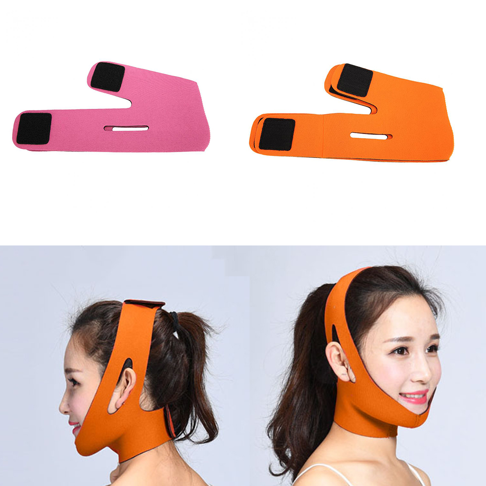 Face Lift Tools Slimming Face Mask Facial Thin Masseter Double Chin Skin Face Bandage Belt V-shaped Face Care Thining Band