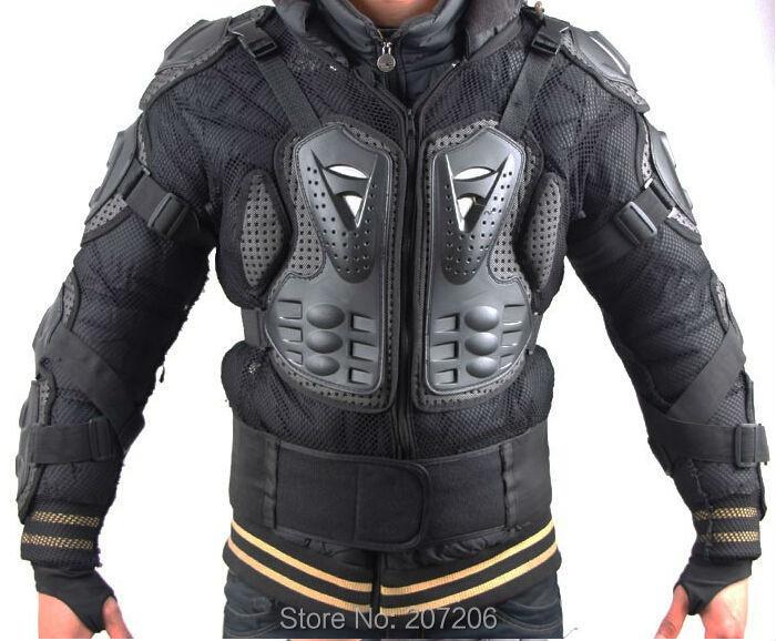 Armadura Profesional Protecci/ón Del Cuerpo de La Motocicleta Motocross Racing Body Armor Spine Protectora Pecho Gear Chaqueta