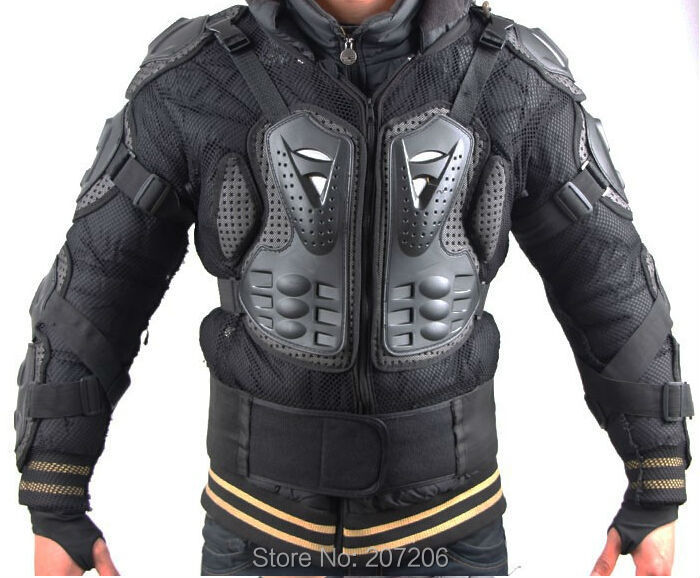 Professionnel De Course De Motocross Armure Complète Colonne Vertébrale Poitrine Veste De Protection Moto Corps Équipement De Protection Gardes