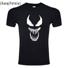 Venom T shirt Harajuku Fashion Tshirt Men Originality Spiderman Cotton Fitness T shirt EU Size Anime