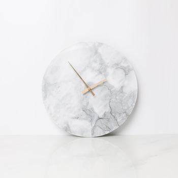 Reloj de pared de mármol nórdico diseño moderno relojes de arte ...