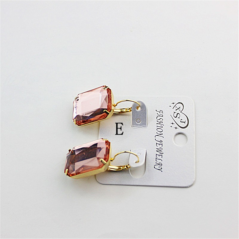 HTB1pJSrOVXXXXbMaFXXq6xXFXXXm - Hot and bright green purplish red, purple and blue pink and blue pink color women's birthday party earrings with beautiful earri