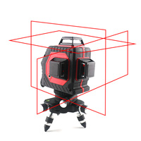 12 Lines Laser Level 3D 360degree Self Leveling Nivel Laser With Vertical Horizontal Outdoor Mode Red