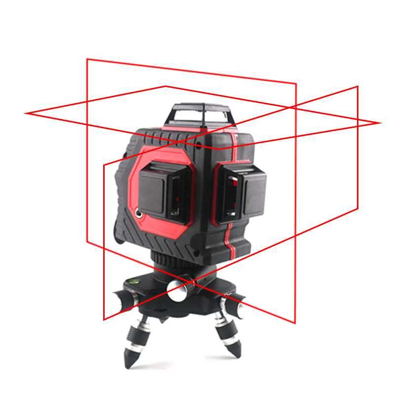 12 lines Laser Level 3D 360degree Self-leveling Nivel Laser with Vertical Horizontal Outdoor Mode Red Line Laser Level12 lines Laser Level 3D 360degree Self-leveling Nivel Laser with Vertical Horizontal Outdoor Mode Red Line Laser Level
