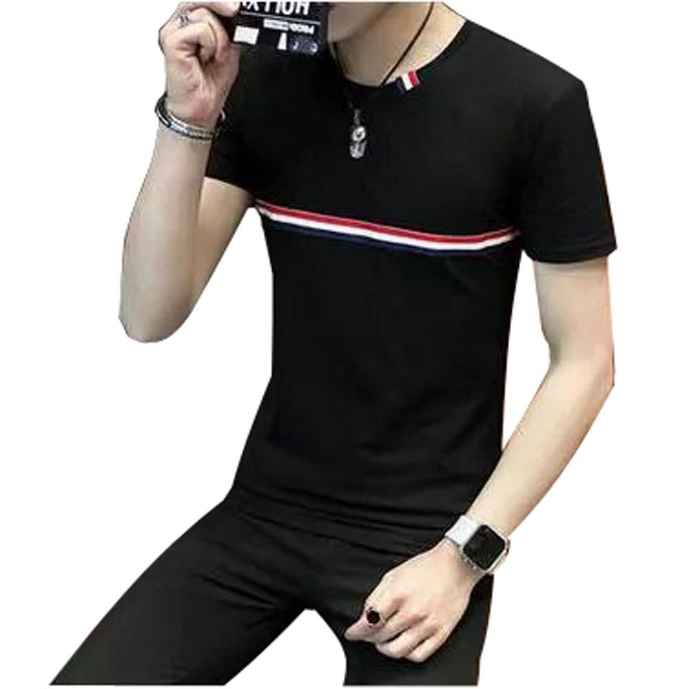 Brand new 2017 summer men 39 s casual short sleeve t shirt for Men s t shirt top brands