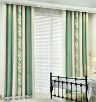 Cashmere High Quality Luxury Curtain For Bedroom Living Room Modern Fabric Window Thick Blackout Curtain