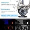 CÂMERA IP SEM FIO ao ar livre à prova d' água 720 P 1.0 Mega HD Mega wifi IR LED P2P Onvif vigilância CCTV gravador de vídeo sistema