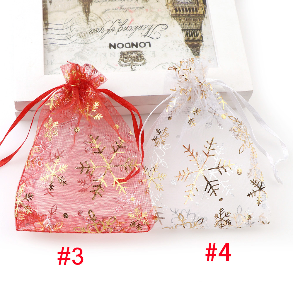 100pcs Gauze Organza Gift Bag Jewelry Packing Pouch Wedding Favor Gift Bags USA