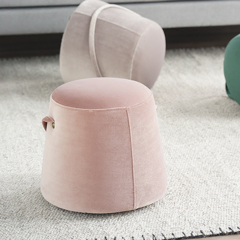 Modern simplicity small pier Modern Upholstered Furniture Stools Furniture Stools Stool Legs Stool For Dressing Table excellent quality simple modern stools fashion fabric stool home sofa ottomans solid wood fine workmanship chair furniture