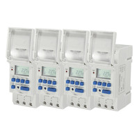 7 Days Digital LCD Electronic Plug In Programable 12 24 Hour Timer Switch Universal Switches 12