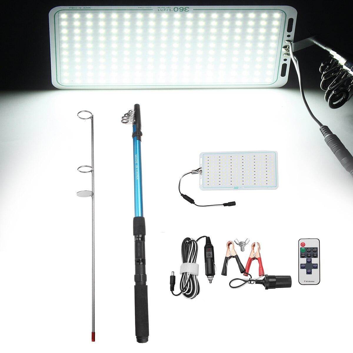 купить 5M Portable Camping Light Telescopic Fishing Rod Camping Lamp Light Car Repair LED Lantern Emergency Lamp по цене 2869.49 рублей