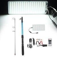 5M Portable Camping Light Telescopic Fishing Rod Camping Lamp Light Car Repair LED Lantern Emergency Lamp