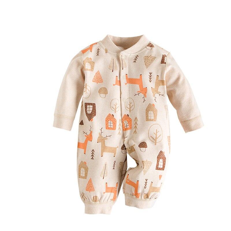 2019 Organic Baby Clothes 100 Cotton Animal Cartoon Baby Boy Girl