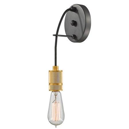 Vintage Loft Wall Light E27 Edison Bulb Plated Iron Retro Industrial Home Lighting Bedside LampVintage Loft Wall Light E27 Edison Bulb Plated Iron Retro Industrial Home Lighting Bedside Lamp