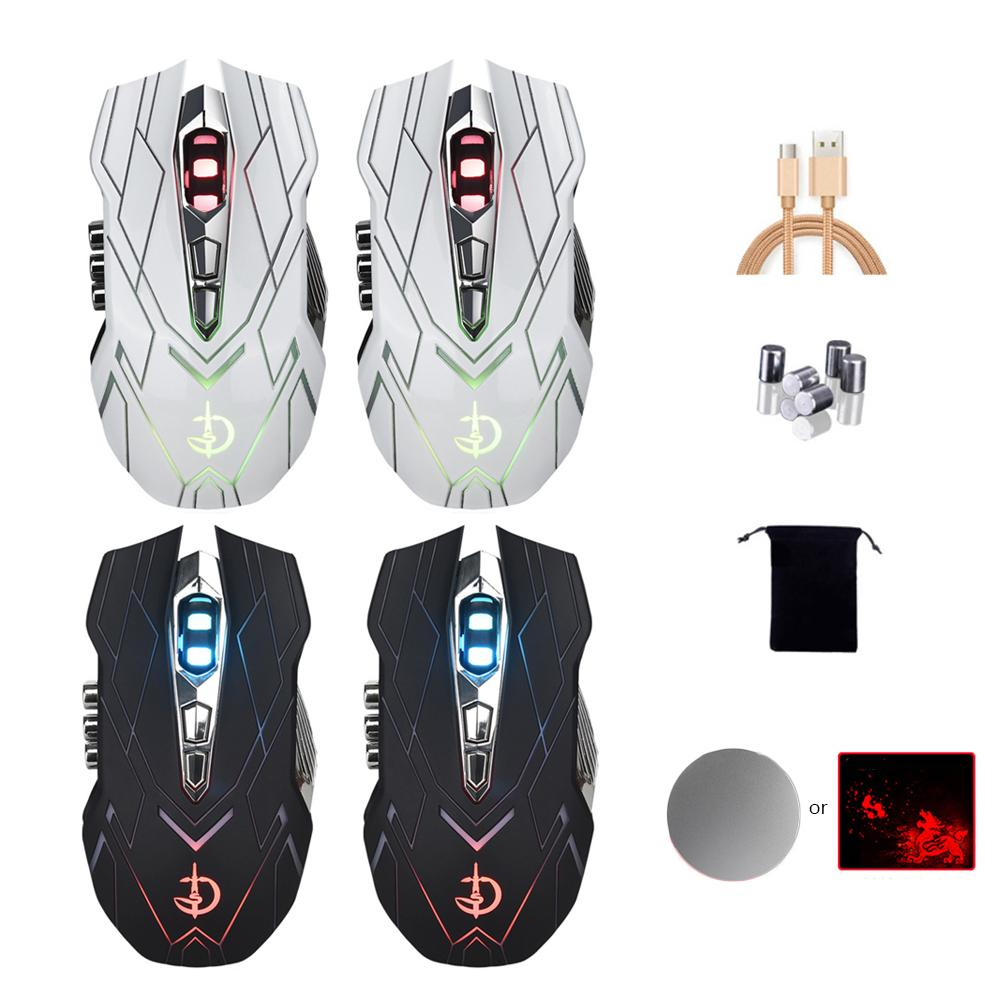 New Fashion Wireless Charging Mouse Wireless Rechargeable Silent Mouse for Desktop Notebook Dropship 8.1