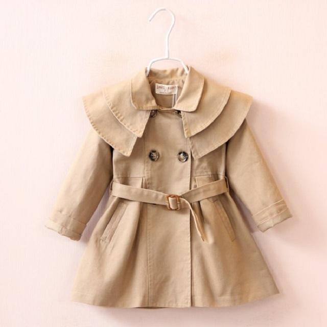 Jaqueta de 2016 Meninas Primavera Outono Dupla Mama Rosa Meninas Casaco Crianças Outwear Roupas da Moda para Crianças