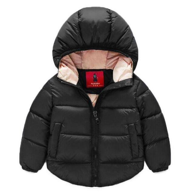 2016 New Baby Boy Coat Children Outerwear Coat Fashion Boy Jacket Baby Girls Coat Warm Hooded Children Clothing Kids clothes