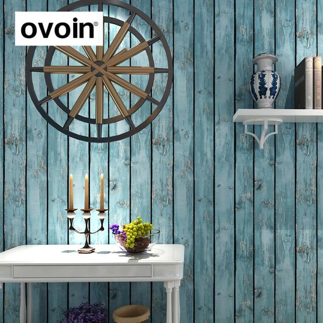 blue barn wood. Blue Distressed Barnwood Wallpaper Vintage Dark Red Faux Barn Wood Texture Plank Wall Paper Roll Vinyl R