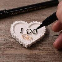 Jadalne Pisarz Długopis Kolorowe Pigmentu Pióro Kremówka Ciasto Dekorowanie Narzędzia Ciasto Cukier Cukier Puder Ciastka Cukiernicze Dekorowanie Pen Narzędzia